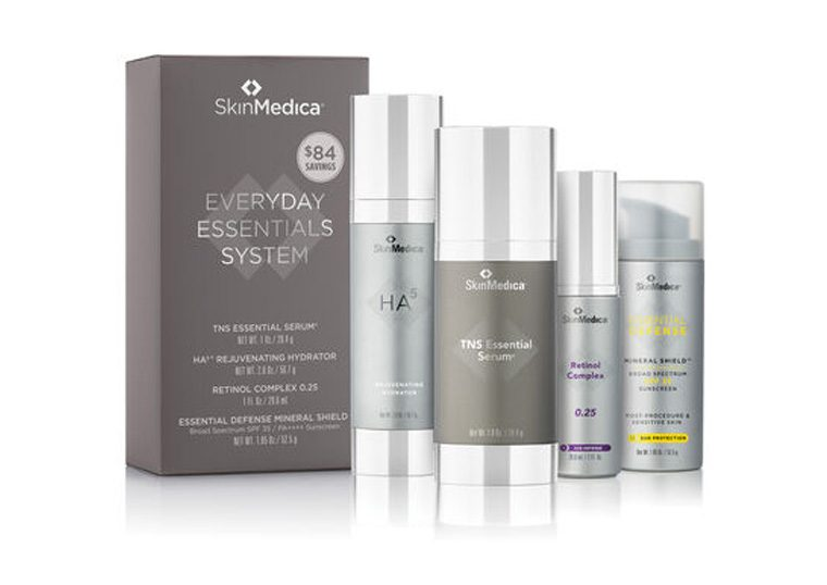 SkinMedica family of products